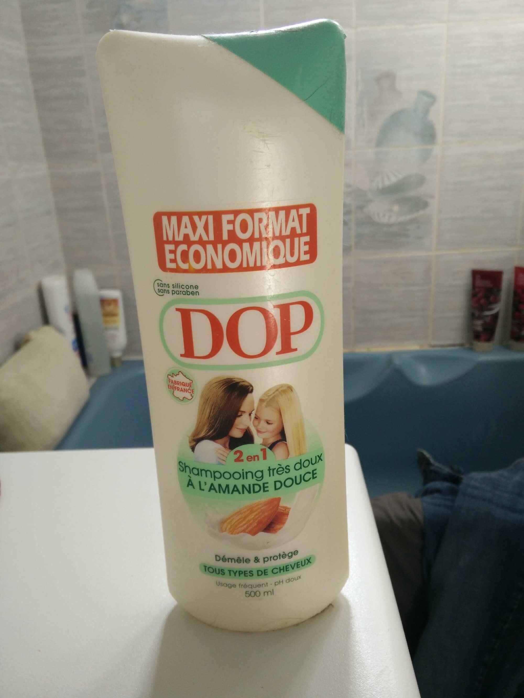 Dop shampoing très doux 2 en 1 amande douce - Product