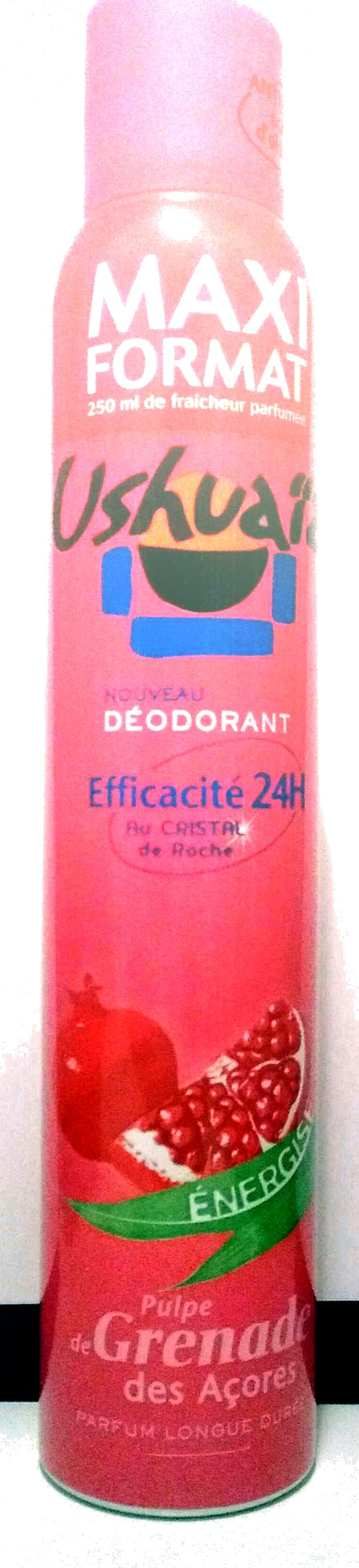 Déodorant efficacité 24h Pulpe de Grenade des Açores - Produit