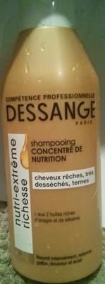 Shampooing concentré de nutrition nutri-extrême richesse - Produit