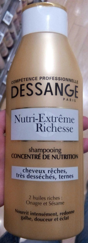 Shampooing concentré de nutrition nutri-extrême richesse - Product - fr