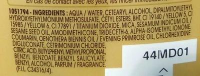 Soin démêlant Nutri-Extrême Richesse - Ingredients
