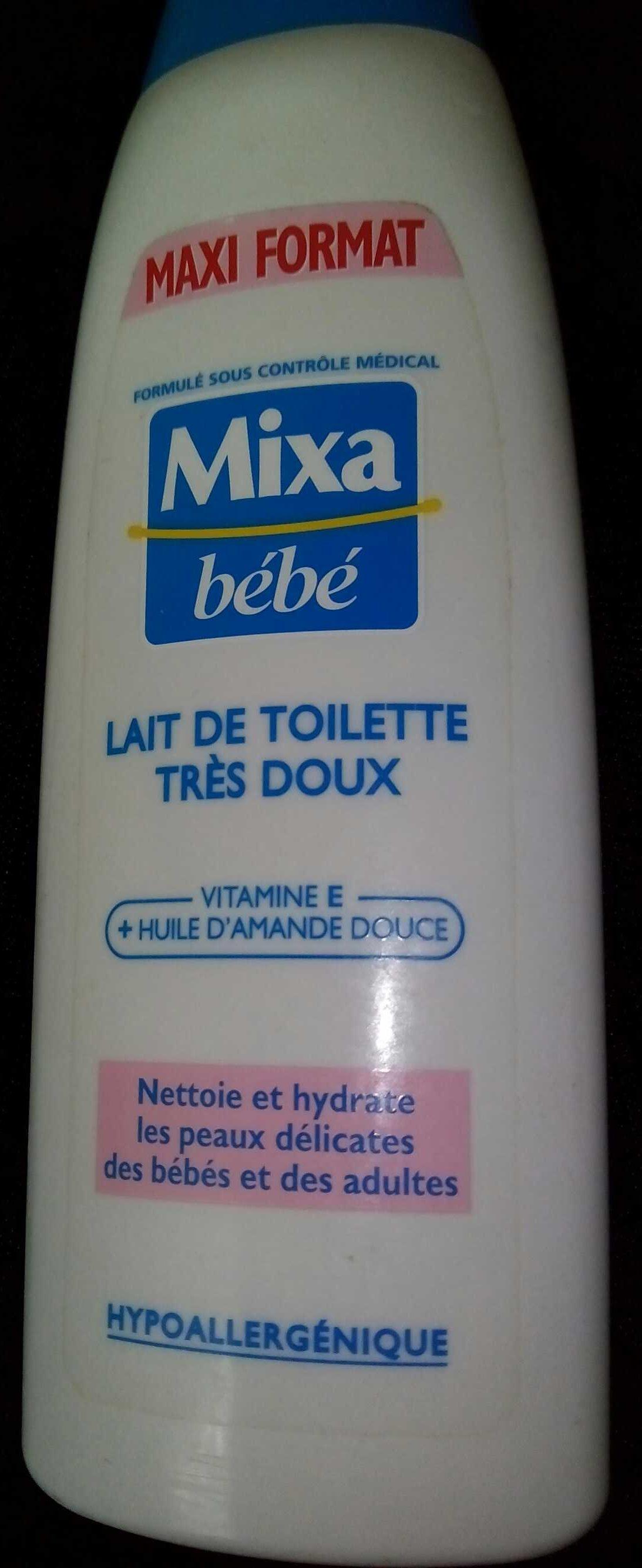 Mixa bébé, Lait de toilette très doux, Maxi format - Product