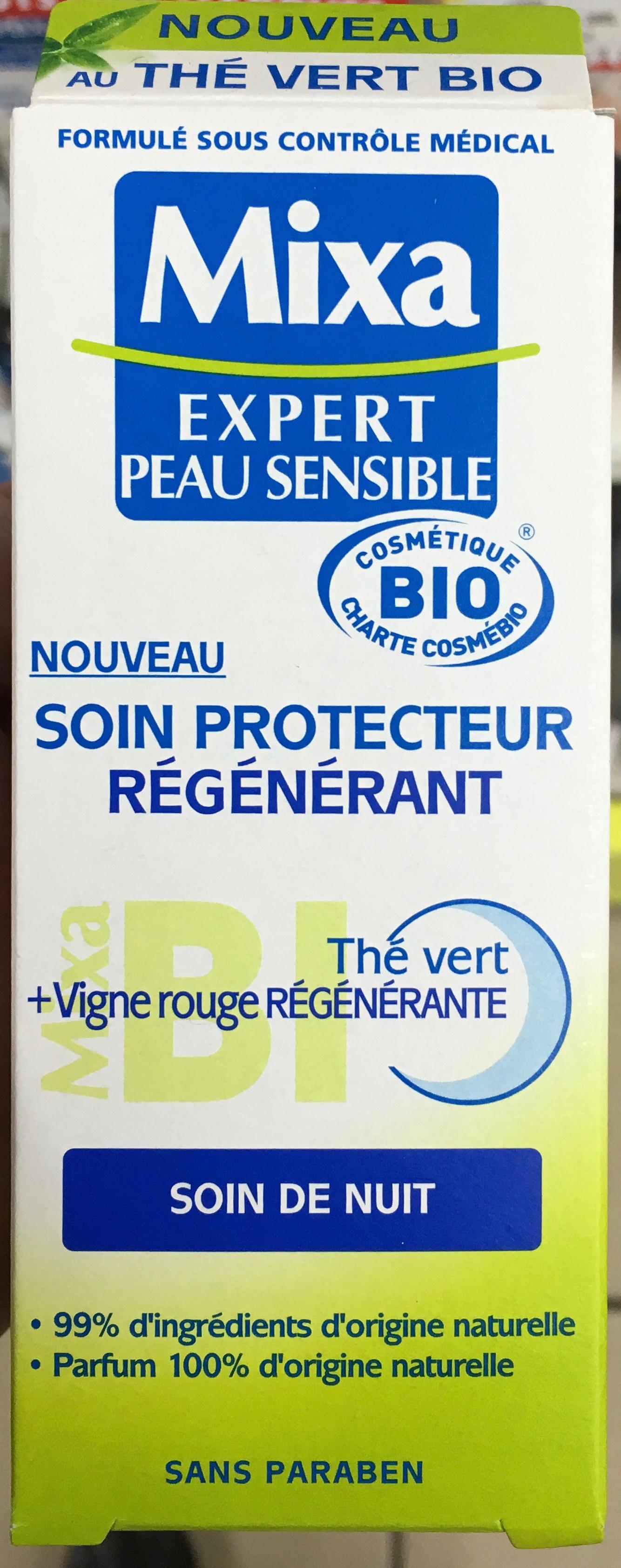 Soin protecteur regénérant Thé vert + Vigne rouge régénérante - Produit