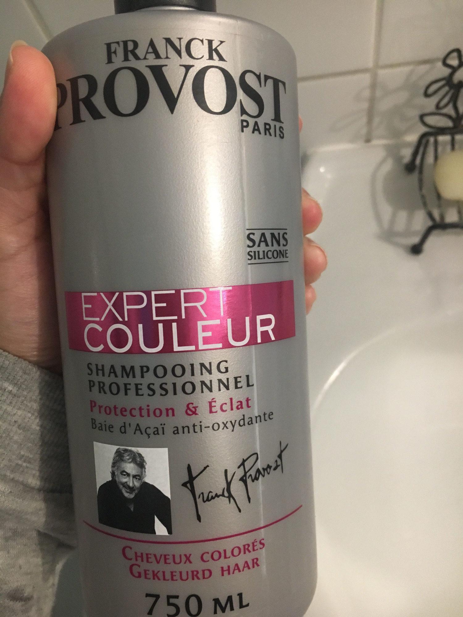 Shampooing professionnel, protection & éclat, cheveux colorés - Produit