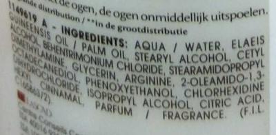 Expert Réparation Après-shampooing soin professionnel - Ingredients