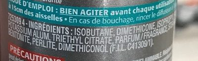 Pierre d'alun 48H - Ingredients