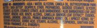 Lait corps nutritif protecteur Huile d'abricot + Thé vert bio - Ingrédients