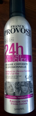 24h Expert boucles Mousse coiffante professionnelle fixation forte - Product