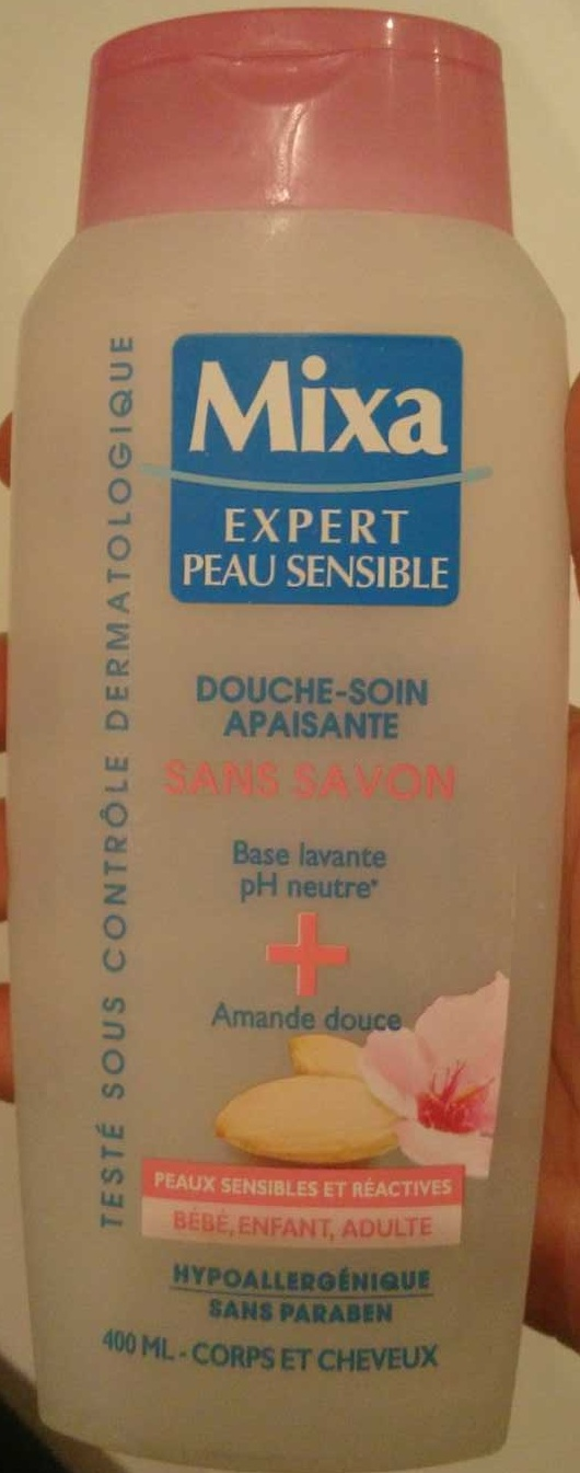 Douche-soin apaisante sans savon - Produit