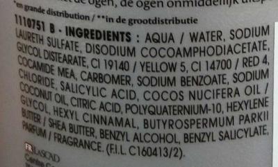Expert Nutrition+ Shampooing professionnel - Ingrédients
