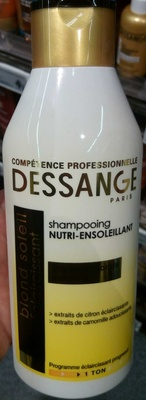Shampooing nutri-ensoleillant Blond Soleil Eclaircissant - Product - fr