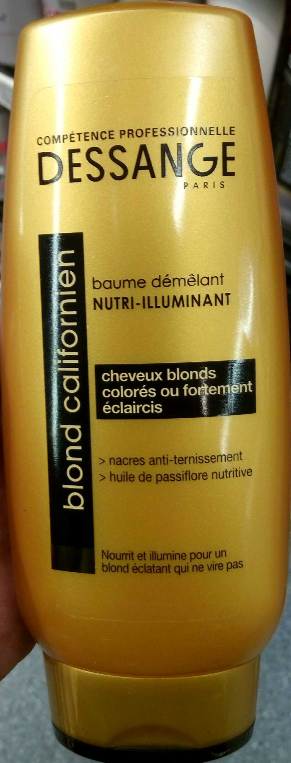 Baume démêlant nutri-illuminant blond californien - Product