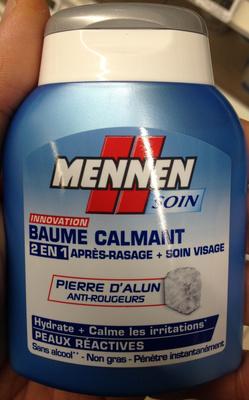 Baume calmant 2 en 1 après rasage + soin visage - Produit