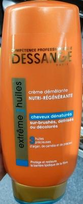 Extrême 3 Huiles Crème démêlante Nutri-régénérante - Produit - fr
