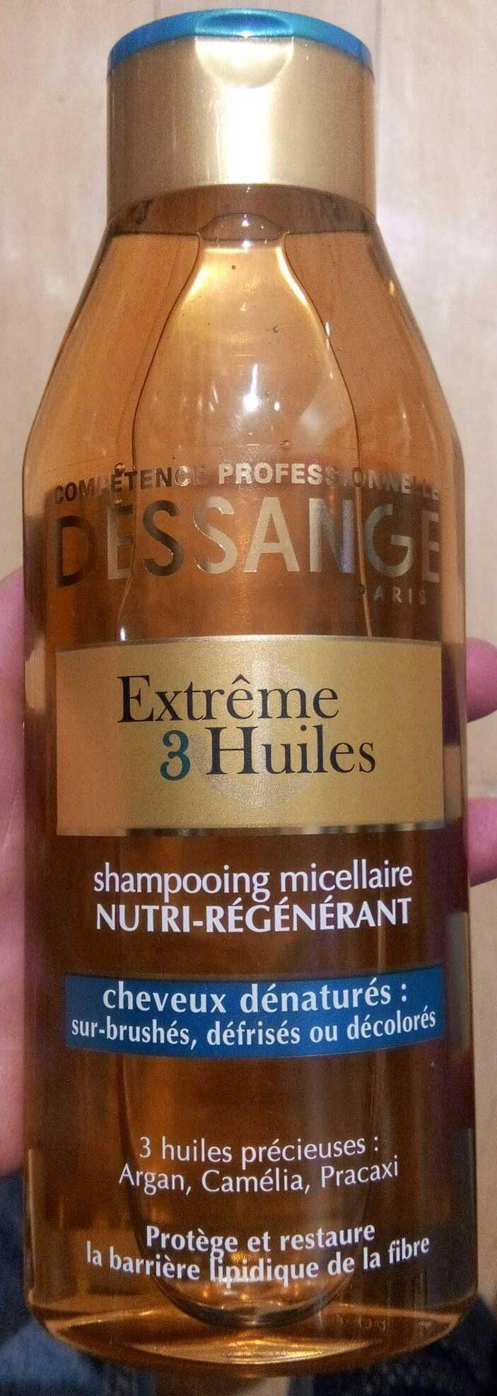 Shampooing micellaire nutri-regénérant cheveux dénaturés - Product - fr