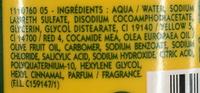 Shampooing très doux à l'huile d'olive 3 en 1 - Ingredients