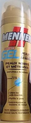 Gels Peaux Sensibles - Peaux noires et métissées - Produit