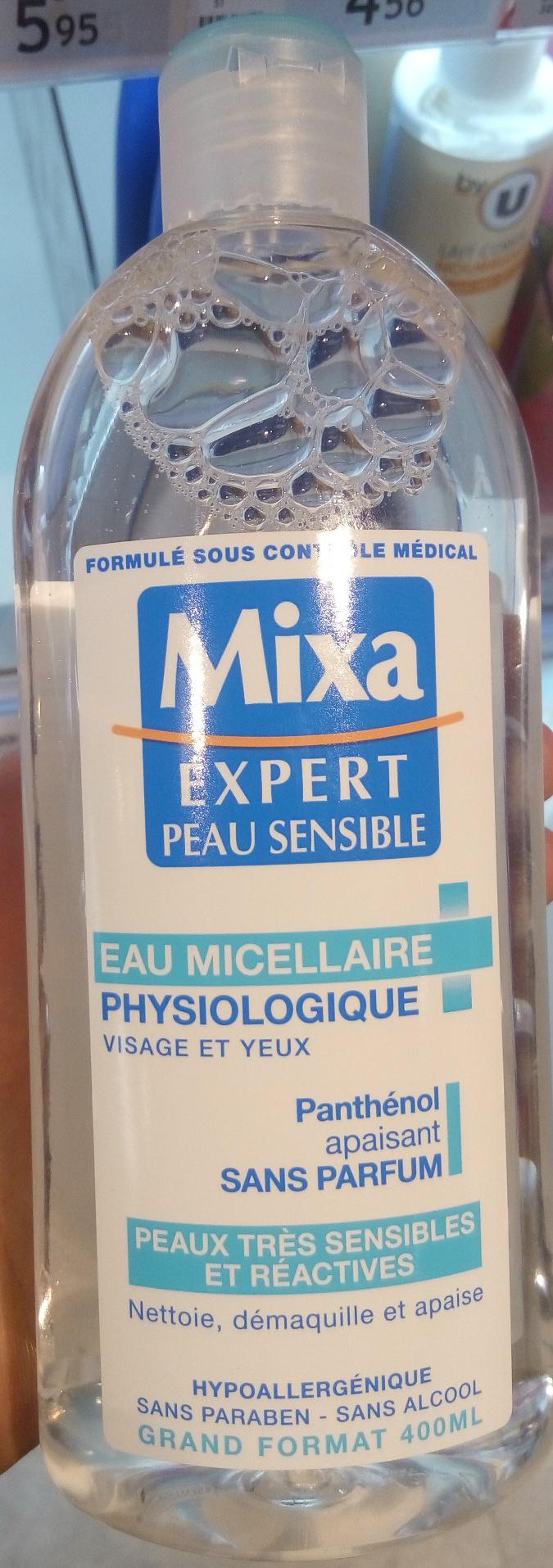 Eau micellaire physiologique visage et yeux - Product - fr