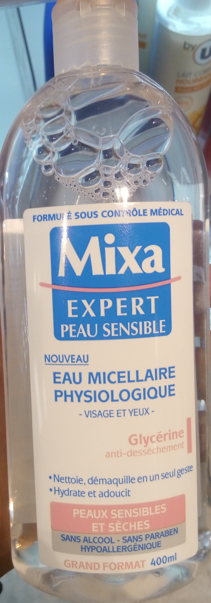 Eau micellaire physiologique visages et yeux - Product - fr
