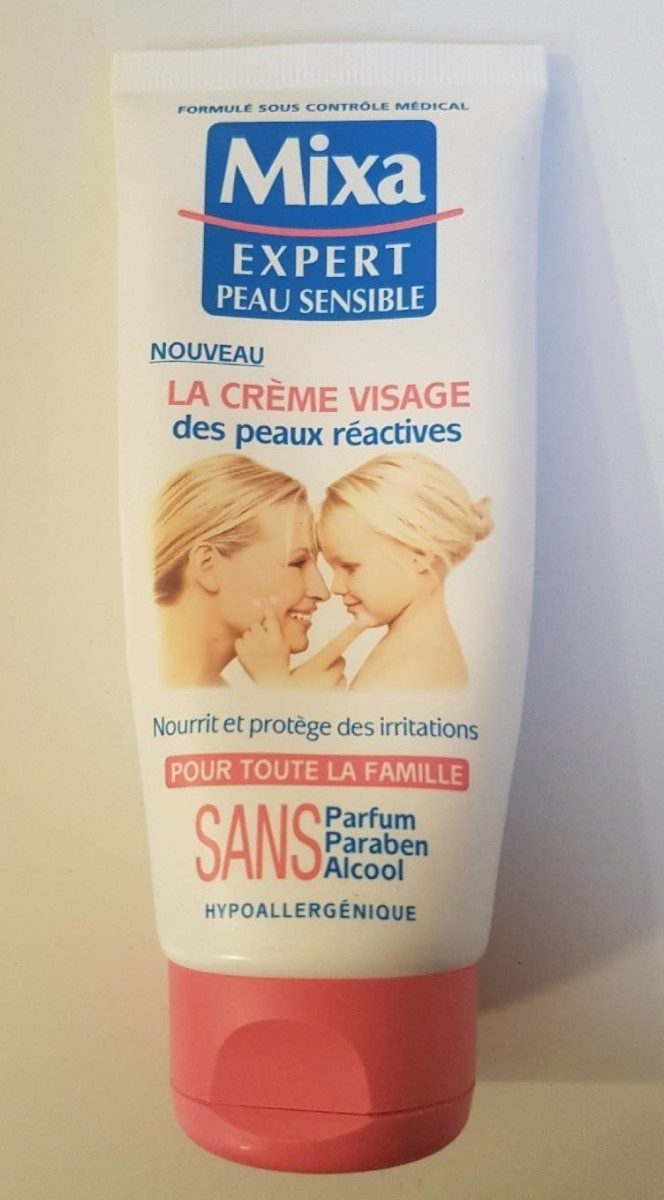 La crème visage des peaux réactives - Product