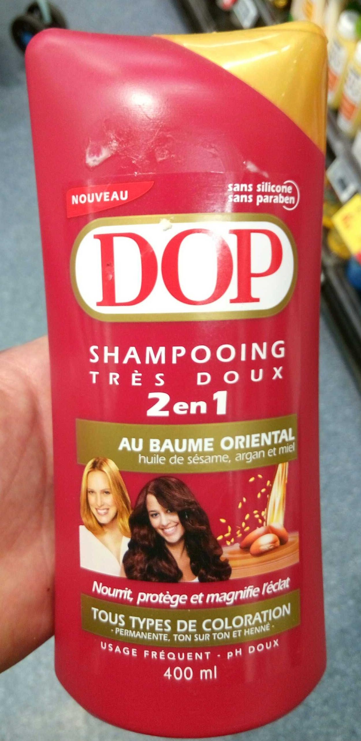 Shampooing très doux 2 en 1 au baume oriental - Product - fr