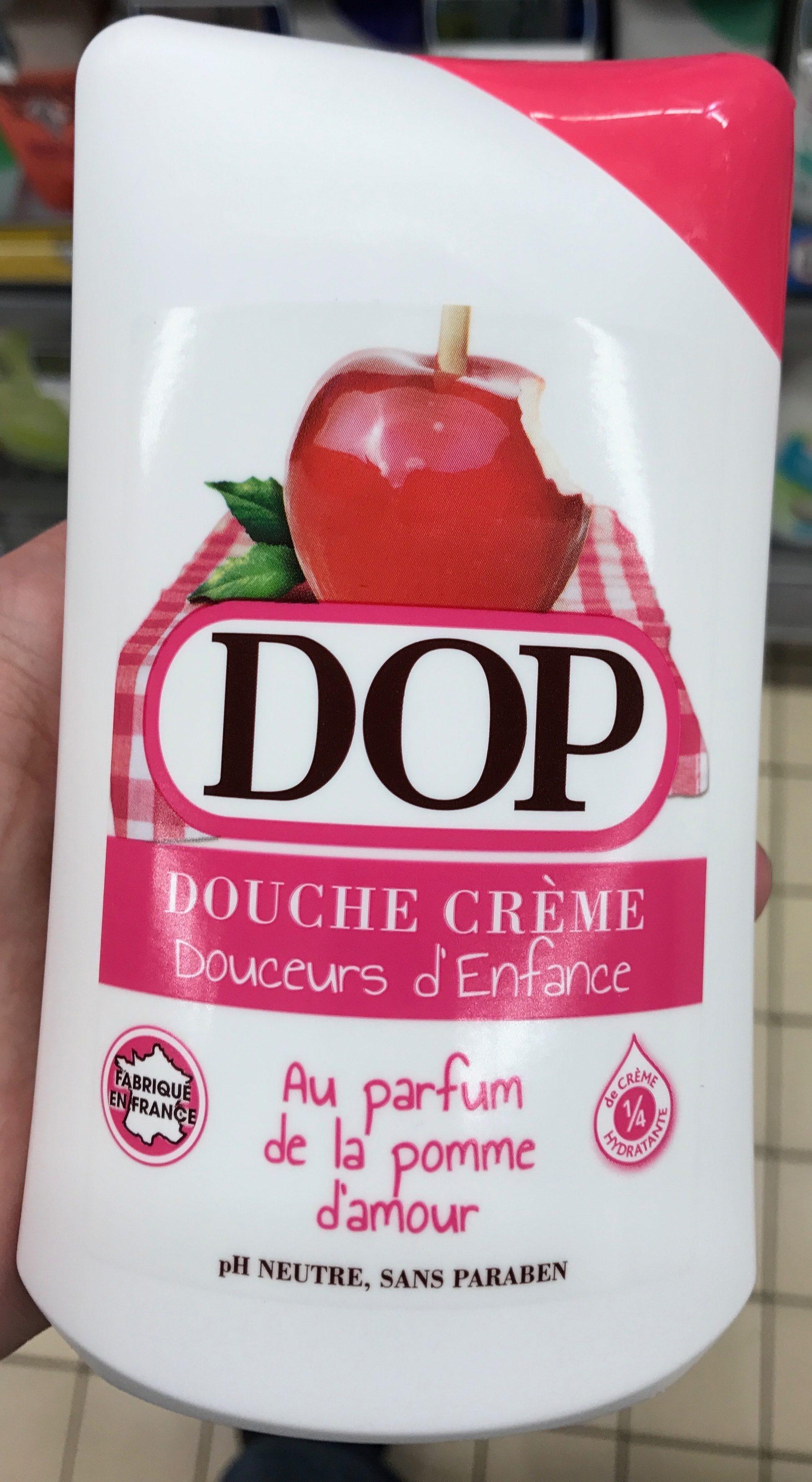 Douche Crème Douceurs d'Enfance au parfum de la pomme d'amour - Produit