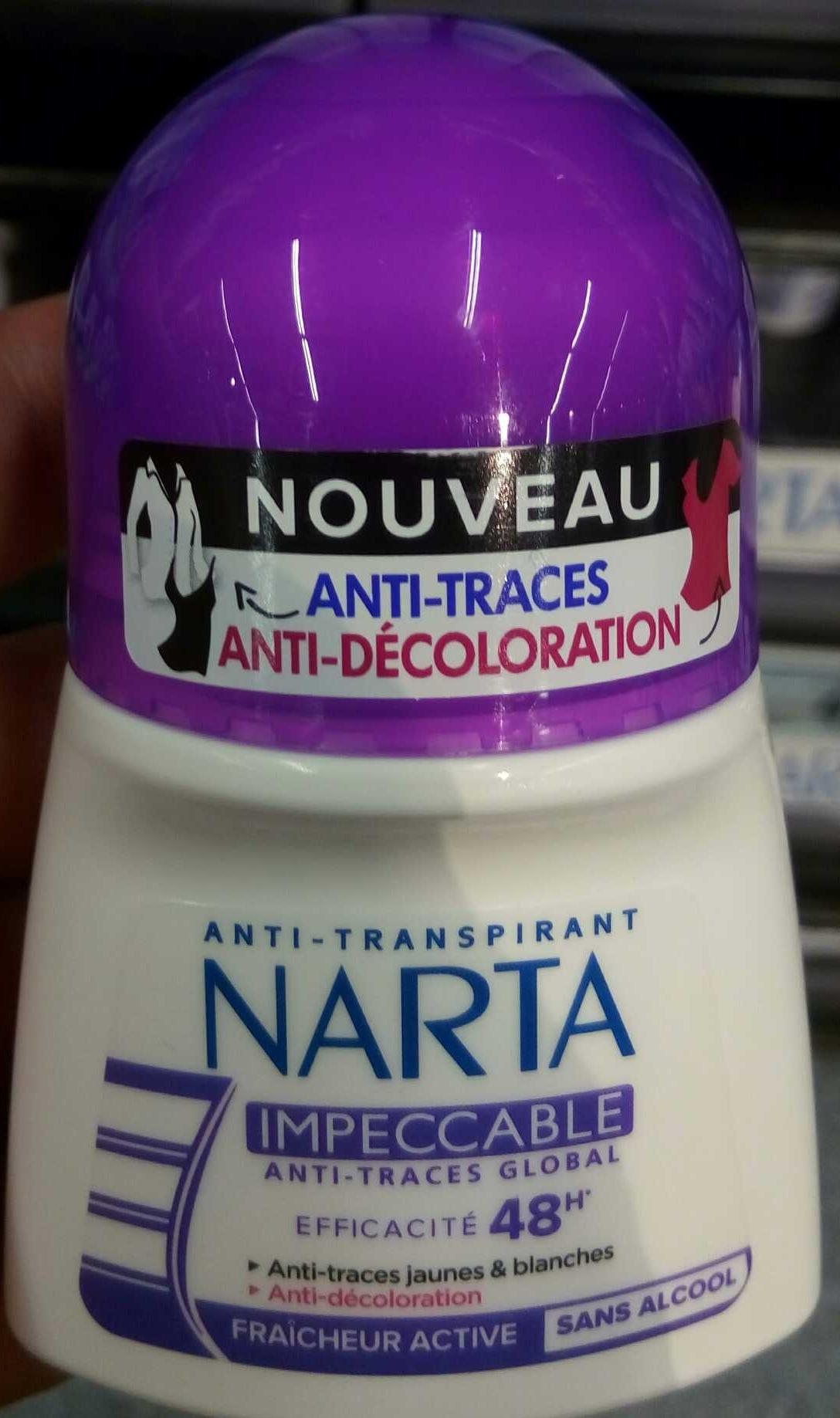 Anti-transpirant Impeccable 48H - Produit