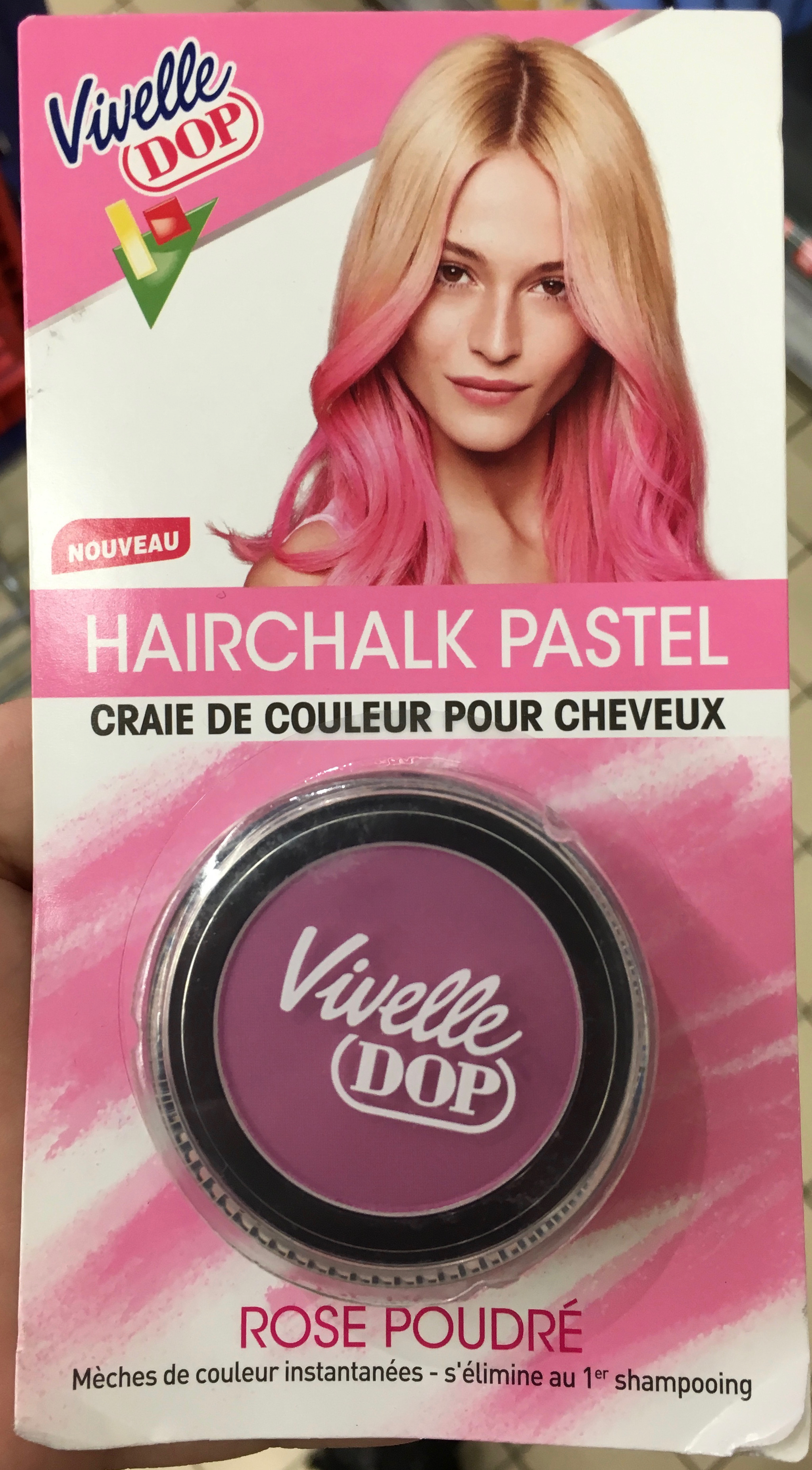 Hairchalk Pastel Rose poudré - Product