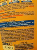 Lait corps réparateur peaux extra sèches - Ingrédients