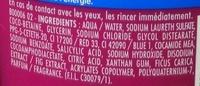 Douche Crème Nourissante au lait de Figue d'Anatolie - Ingrédients - fr