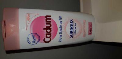Crème douche au talc - Product - fr