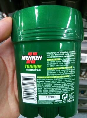 Tonique déodorant 24h stick large - 2
