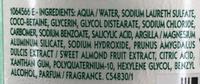 Shampooing très doux 2 en 1 à l'amande douce - Ingrédients