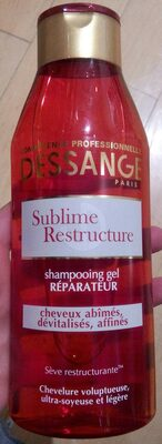 Shampooing gel réparateur Sublime Restructure - Product