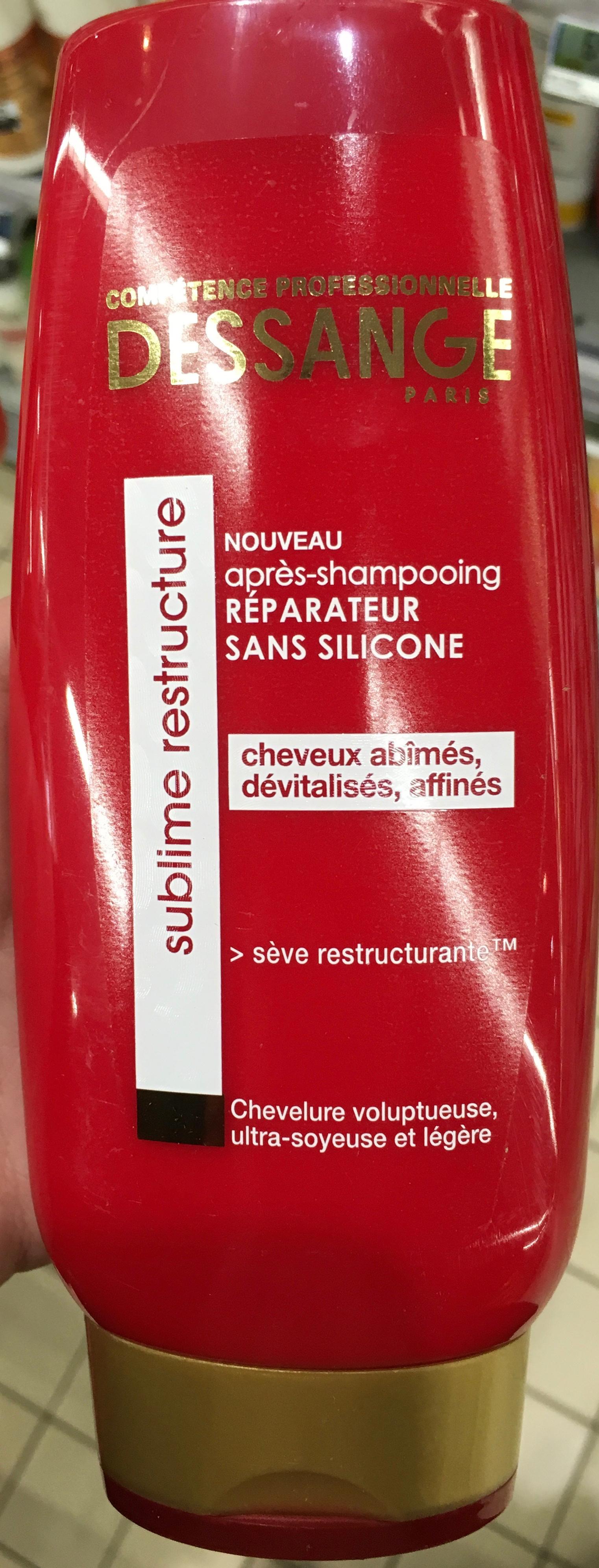 Après-shampooing réparateur Sublime Restructure - Produit