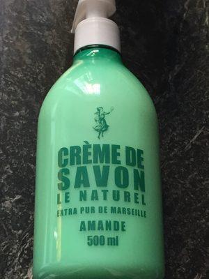 Crème de savon - Product - fr
