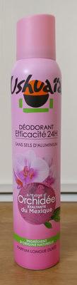 Déodorant efficacité 24h à l'extrait d'orchidée exaltante du Mexique - Produit