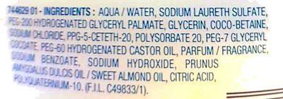 Mixa dry skin expert - Ingredients
