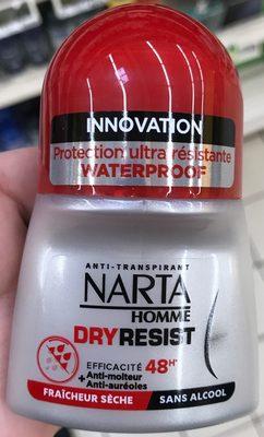 Dry Resist 48H Homme - Produit