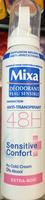 Déodorant Peau Sensible Innovation Anti-Transpirant 48H Sensitive Confort Extra-Soin - Product