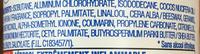Déodorant Peau Sensible Innovation Anti-Transpirant 48H Sensitive Confort Extra-Soin - Ingredients