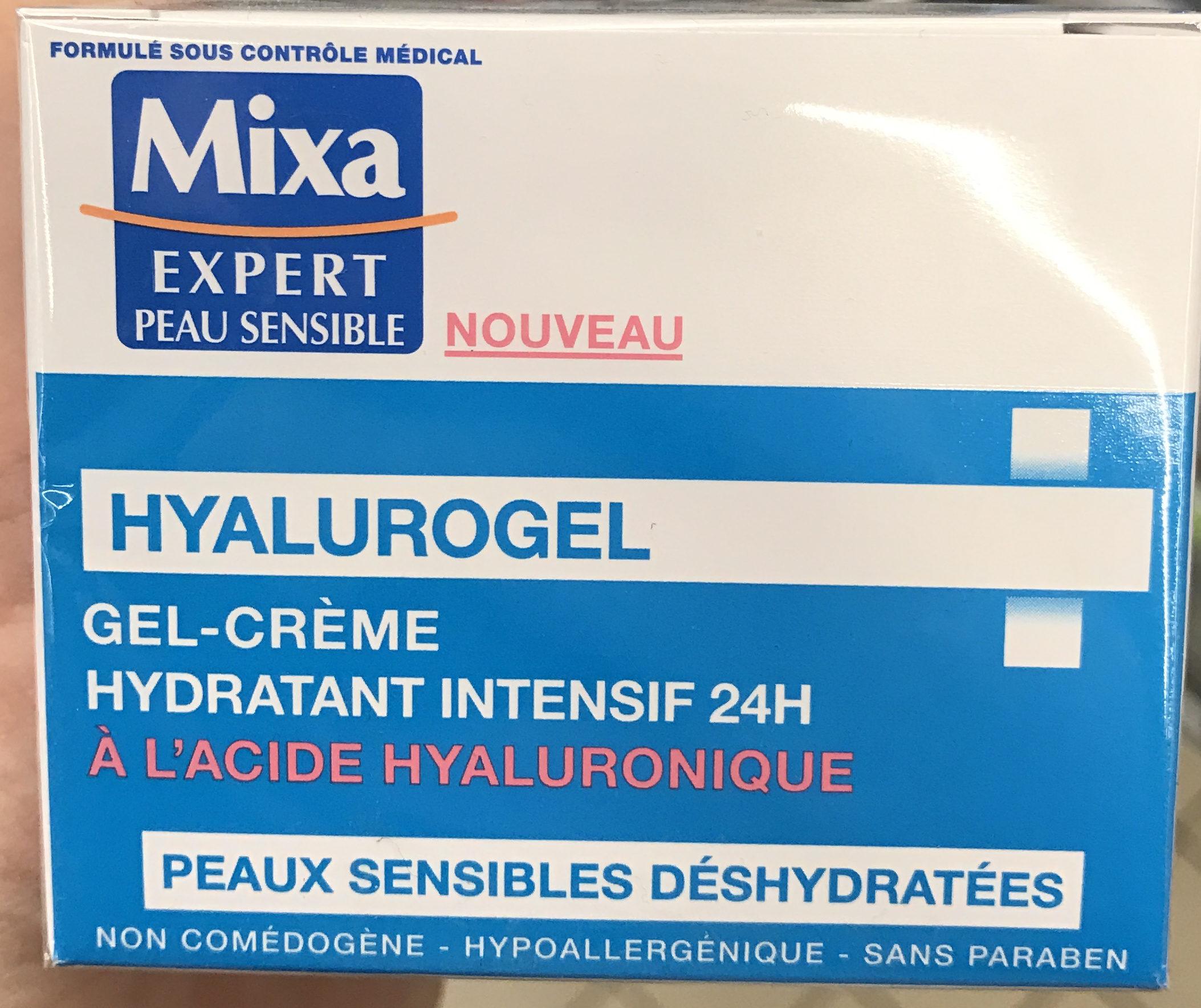 Hyalurogel Gel-Crème Hydratant Intensif 24H - Product