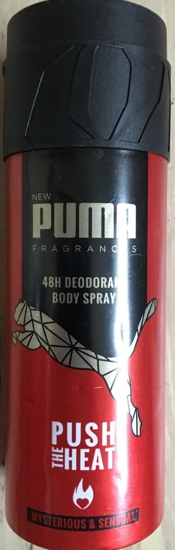 48H Deodorant Body Spray Push the Heat - Produit