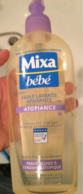 Mixa Bébé Huile lavante apaisante Atopiance - Product