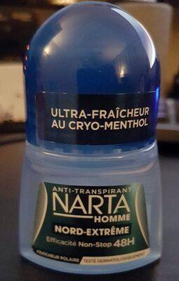 Antitranspirant Narta Homme Nord-Extrême - Produit
