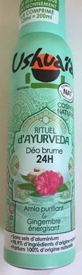 Rituel d'Ayurveda - Produit