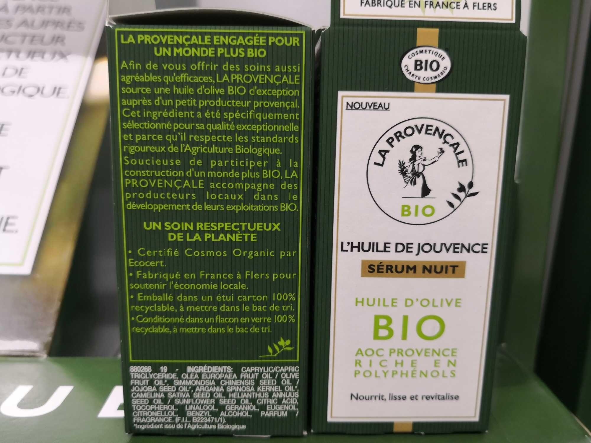 L'huile de jouvence Sérum nuit - Product - fr