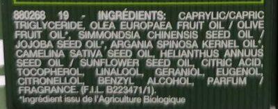L'huile de jouvence Sérum nuit - Ingredients