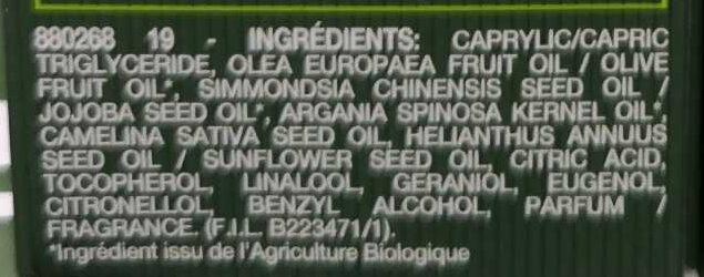 L'huile de jouvence Sérum nuit - Ingredients - fr