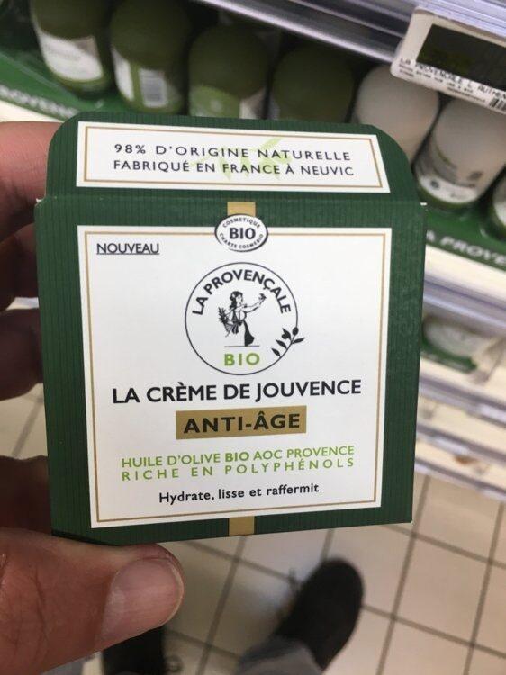 La Crème de Jouvence Anti-âge - Produit